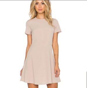 Wayf Revolve nude dress size XS